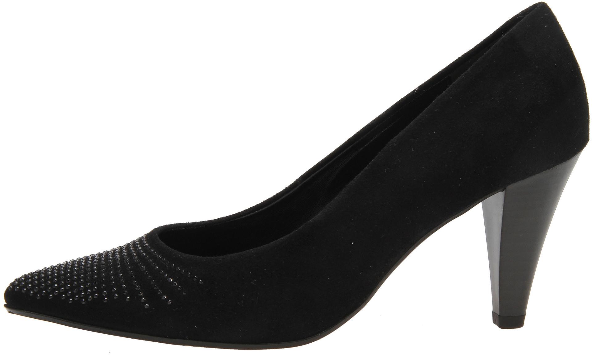 37a603a760 Soňa - Dámska obuv - Lodičky - Čierne kožené lodičky Gabor na vysokom  podpätku