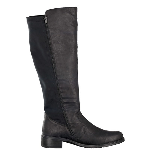 cc371bdc4ea4 Soňa - Dámska obuv - Čižmy - Dámska čižma vysoká zateplená na nízkom  podpätku značky Rieker