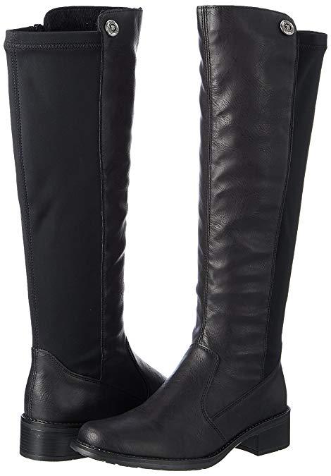 e3629d8c59d7 Soňa - Dámska obuv - Čižmy - Dámska čižma vysoká zateplená na nízkom  podpätku značky Rieker