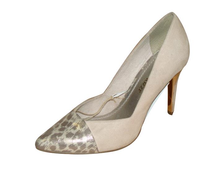 3ca10819a68a Soňa - Dámska obuv - Spoločenská obuv - Šedé spoločenské topánky Marco Tozzi