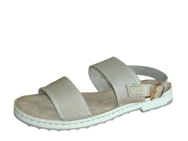 Soňa - Dámska obuv - Sandále - Béžové sandále na nízkom podpätku Rizzoli bf1a95f4348