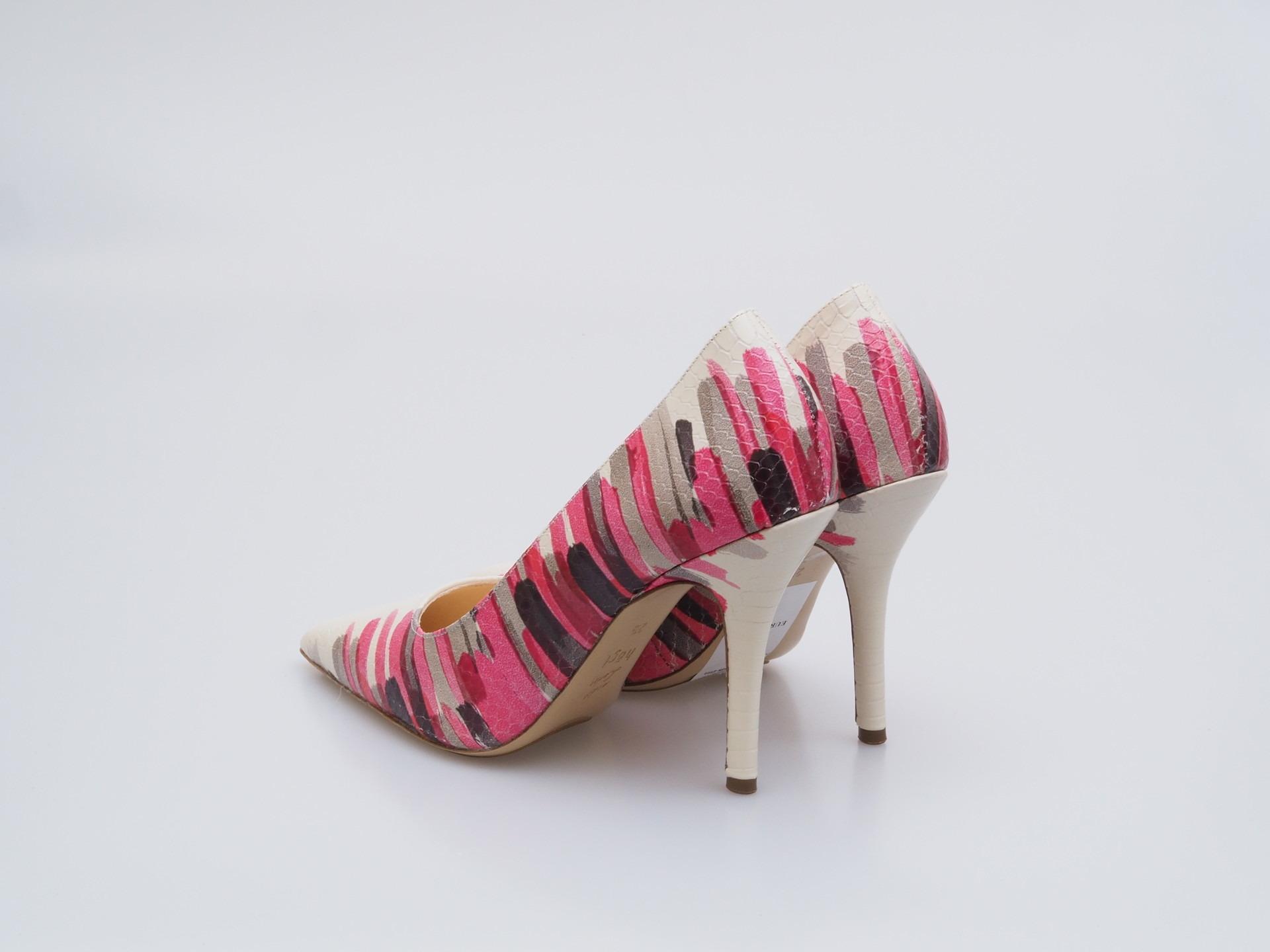 597b0b31954 Soňa - Dámska obuv - Lodičky - Bielo-ružové lodičky Högl