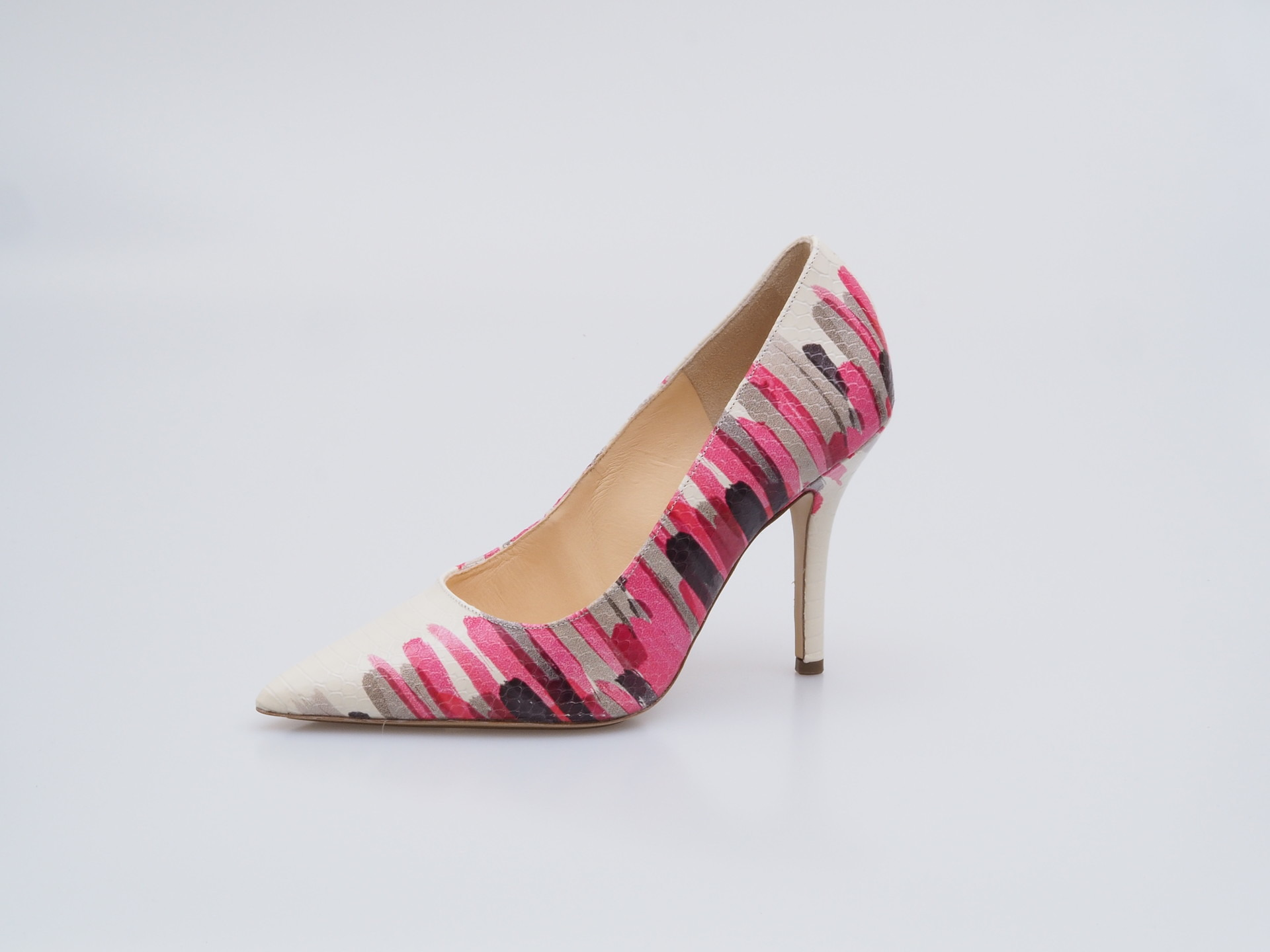 Soňa - Dámska obuv - Lodičky - Bielo-ružové lodičky Högl 1847fe7d77
