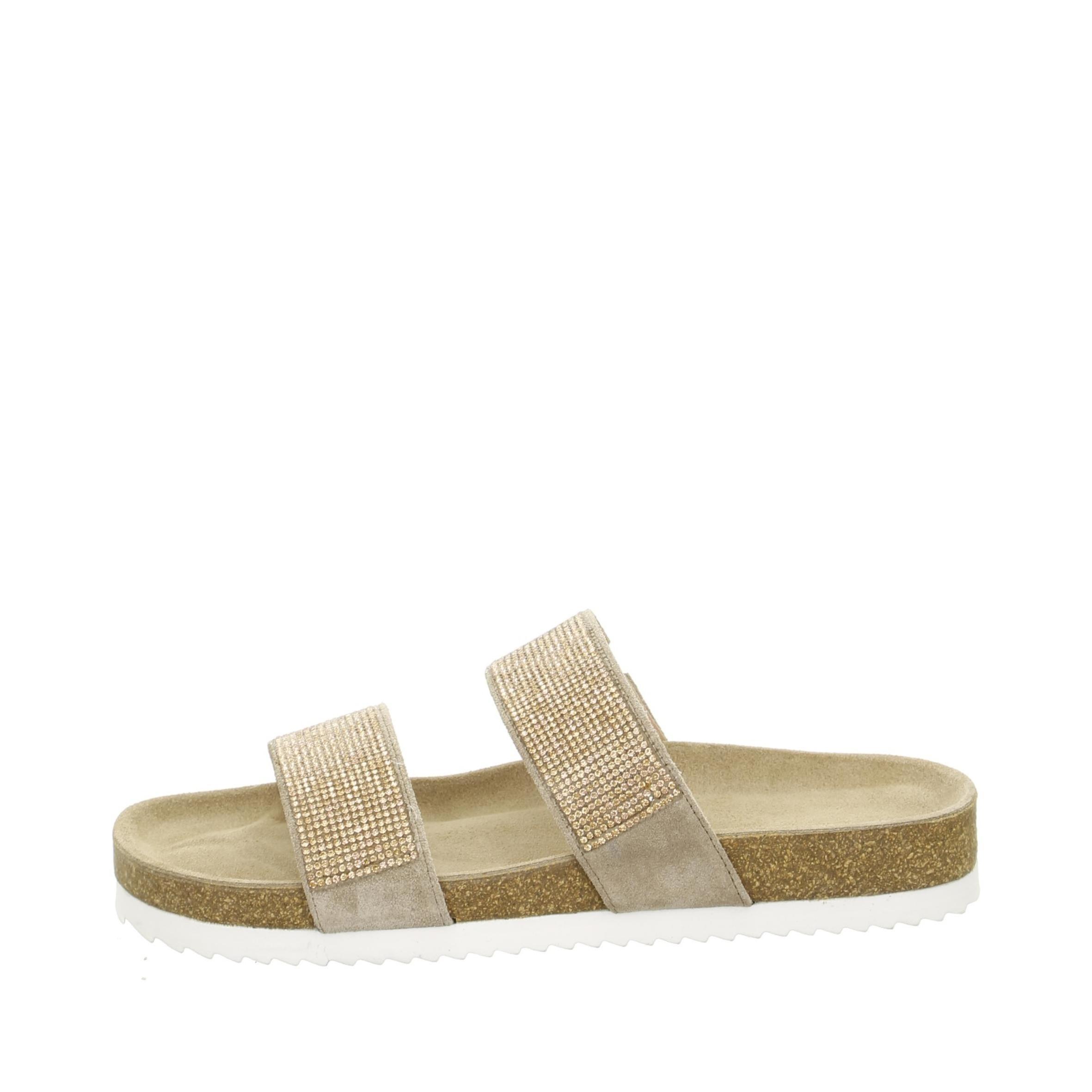 17734ea8d96a Soňa - Dámska obuv - Šľapky - Bledohnedé dámske šľapky