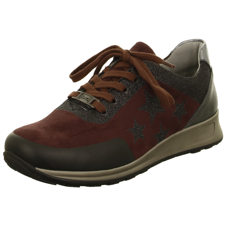 Soňa - Dámska obuv - Tenisky - Bordová dámska športová obuv značky Ara 1fb86495a9f