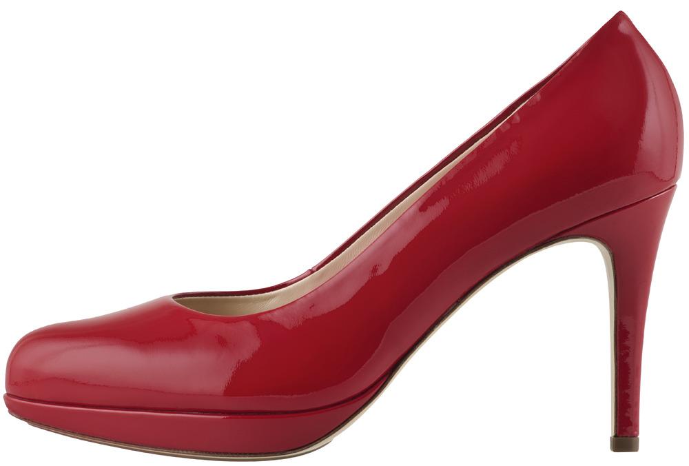 04858733aa Soňa - Dámska obuv - Spoločenská obuv - Červené lakované lodičky Högl