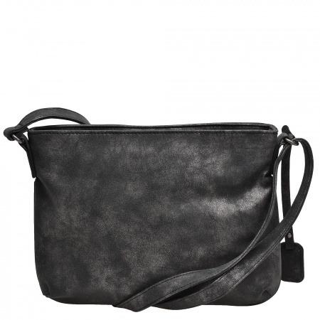 Soňa - Dámska - Dámske kabelky - Čierna dámska kabelka cez plece ... 836e26e7424