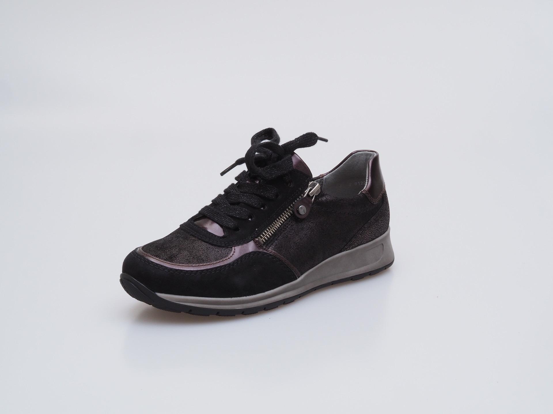 Soňa - Dámska obuv - Tenisky - Čierna dámska špotová obuv značky Ara adc45436864