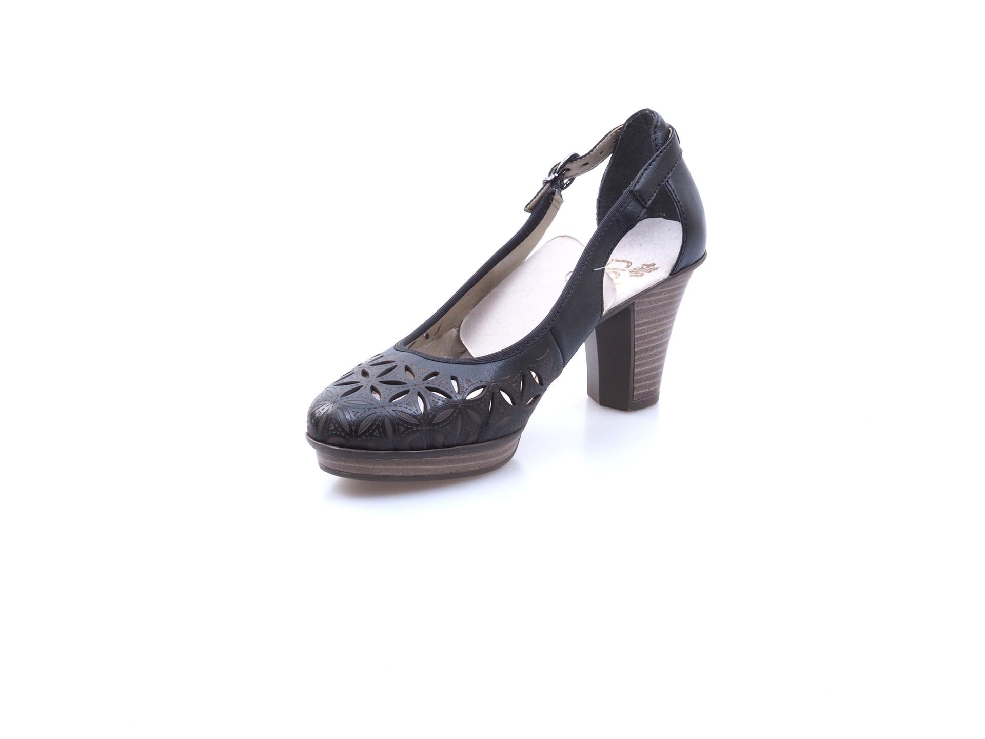 c7799495ee5b Soňa - Dámska obuv - Sandále - Čierna dámska uzatvorená sandála na ...