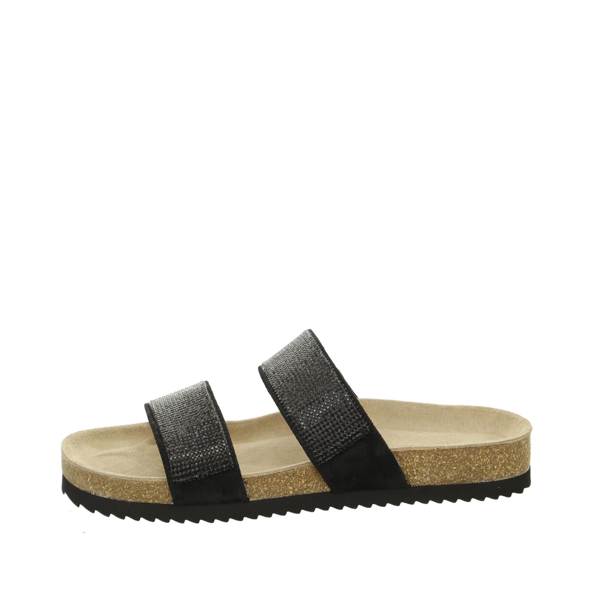 Soňa - Dámska obuv - Šľapky - Čierne dámske šľapky 2da576bd85