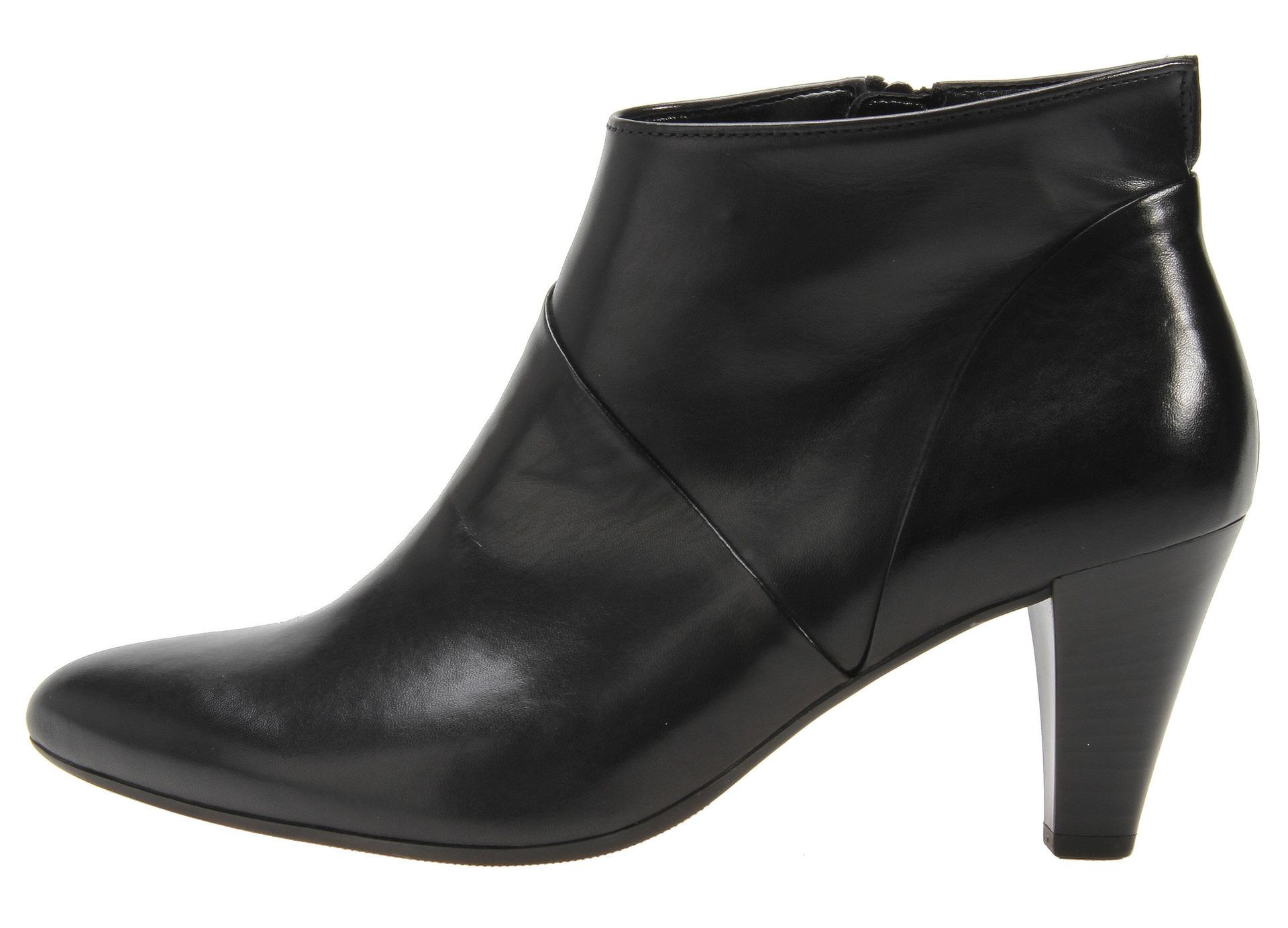 Soňa - Dámska obuv - Kotníčky - Čierne kožené členkové topánky na ... a858e891e0e
