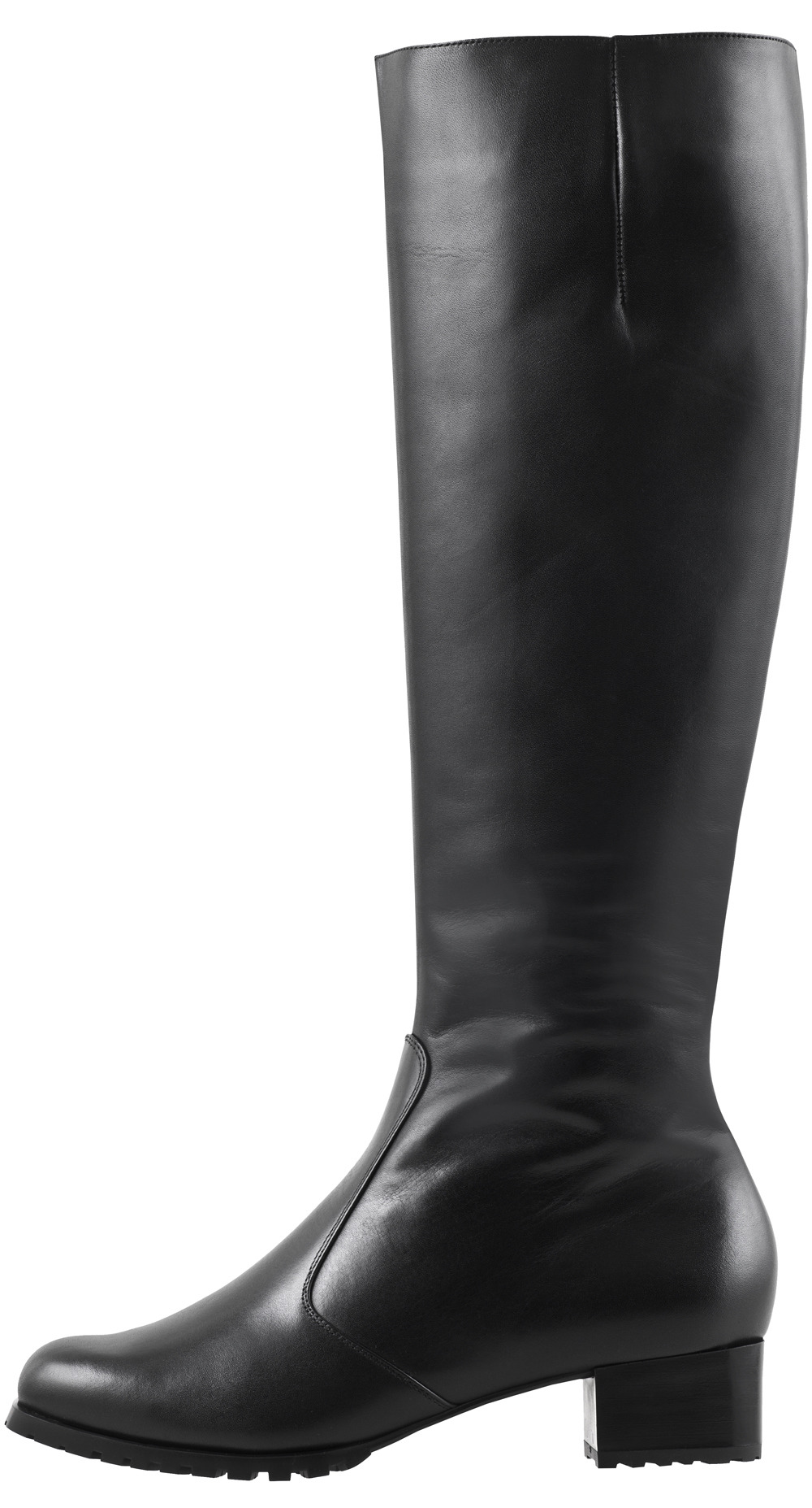 53da7dd75c Soňa - Dámska obuv - Čižmy - Čierne kožené zateplené čižmy Högl