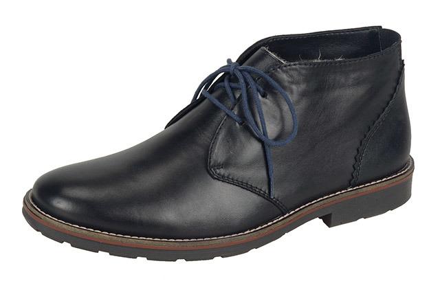 Soňa - Pánska obuv - Zimná - Čierne kožené zateplené členkové ... de8ceab56bf