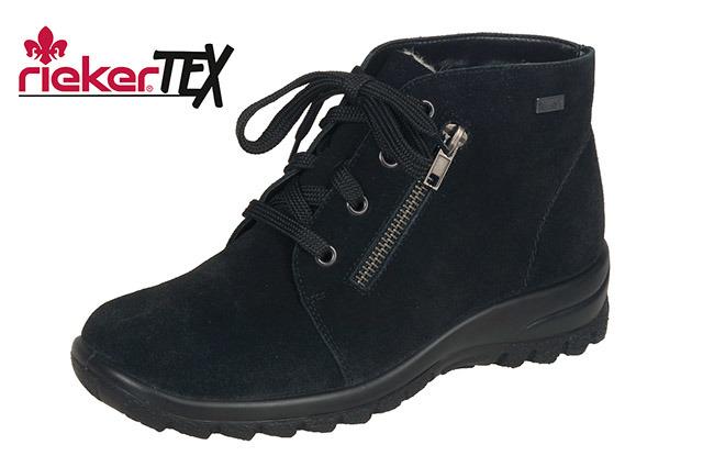 Soňa - Dámska obuv - Kotníčky - Čierne šnurovacie zateplené topánky ... 3d4ac3fa7e7