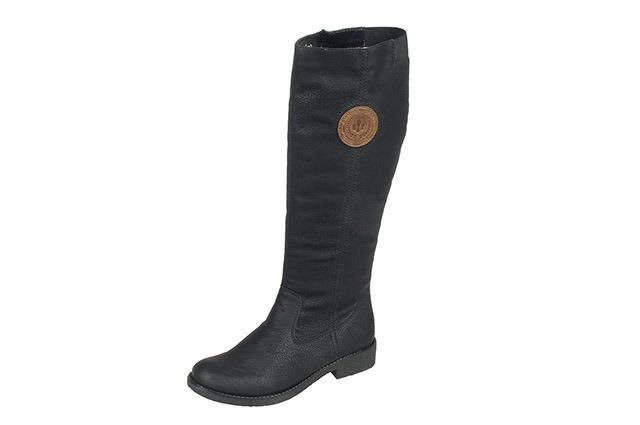 Soňa - Dámska obuv - Čižmy - Čierne vysoké zateplené čižmy Rieker 991923a6c66
