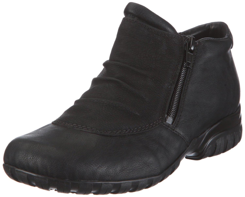 8ea2feb5dae Soňa - Dámska obuv - Kotníčky - Čierne zateplené členkové topánky Rieker