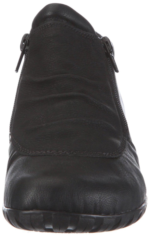 Soňa - Dámska obuv - Kotníčky - Čierne zateplené členkové topánky Rieker 9f51f55b037