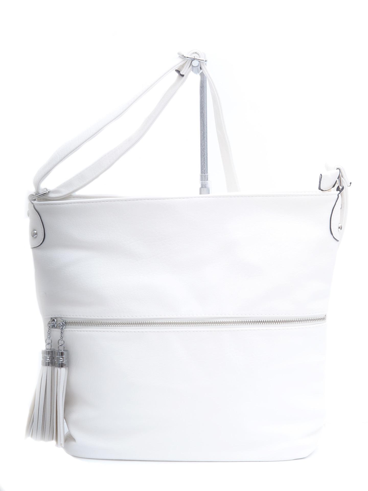 Soňa - Dámska - Dámske kabelky - Dámska kabelka cez plece- biela 888be7ce984