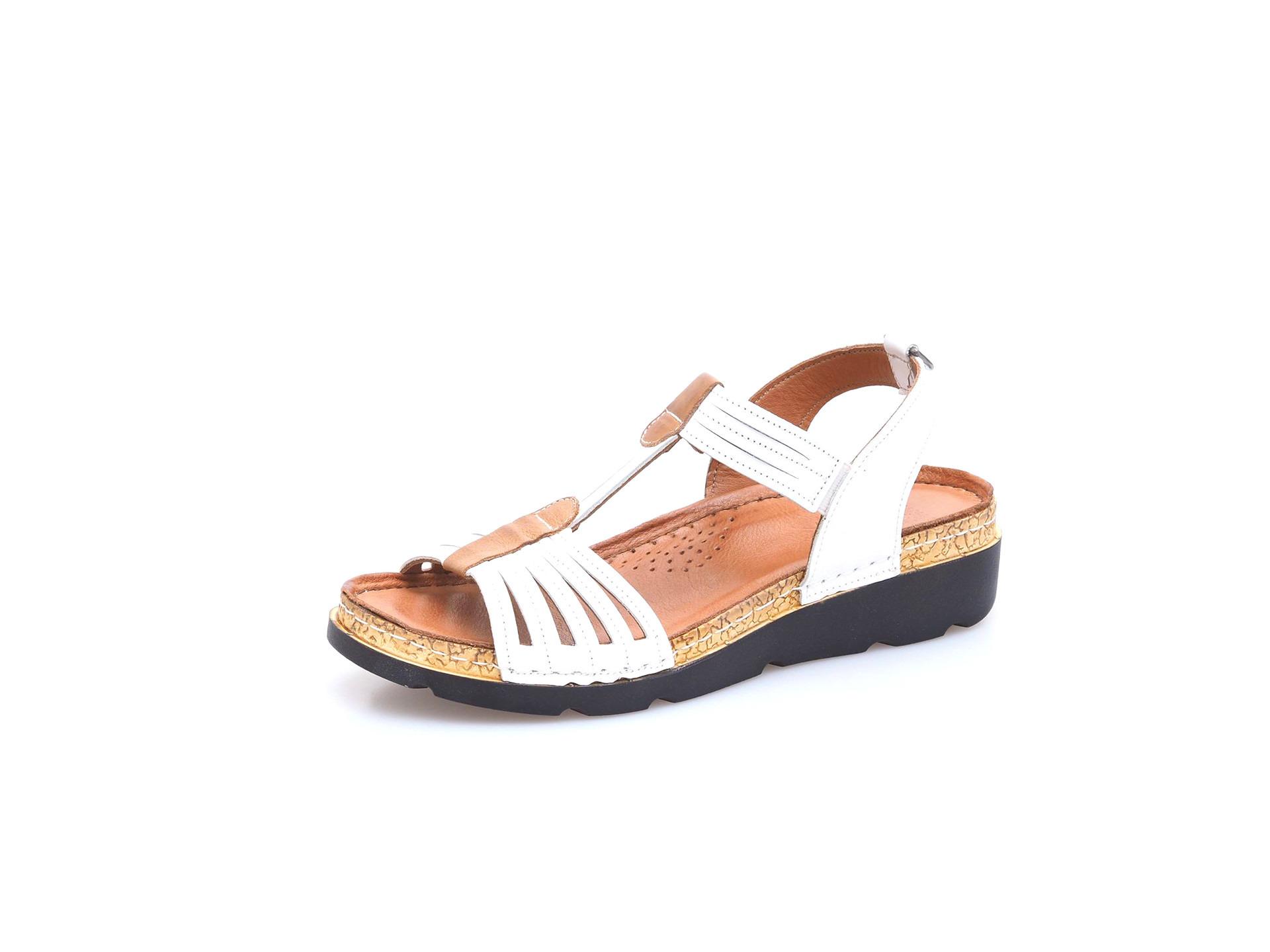 Soňa - Dámska obuv - Sandále - Dámska otvorená sandála na klinovom ... 84648fd56c