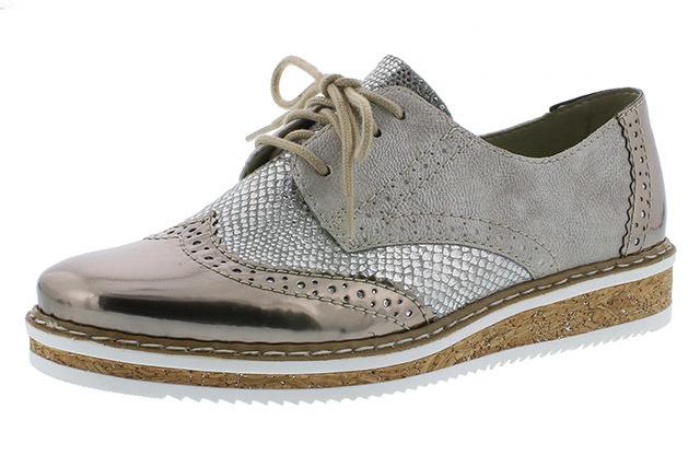 Soňa - Dámska obuv - Poltopánky - Dámska šnurovacia obuv značky Rieker d50c8a3c5ee