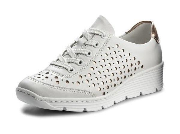 1ee7d91ca3a8 Soňa - Dámska obuv - Poltopánky - Dámska šnurovacia obuv značky Rieker