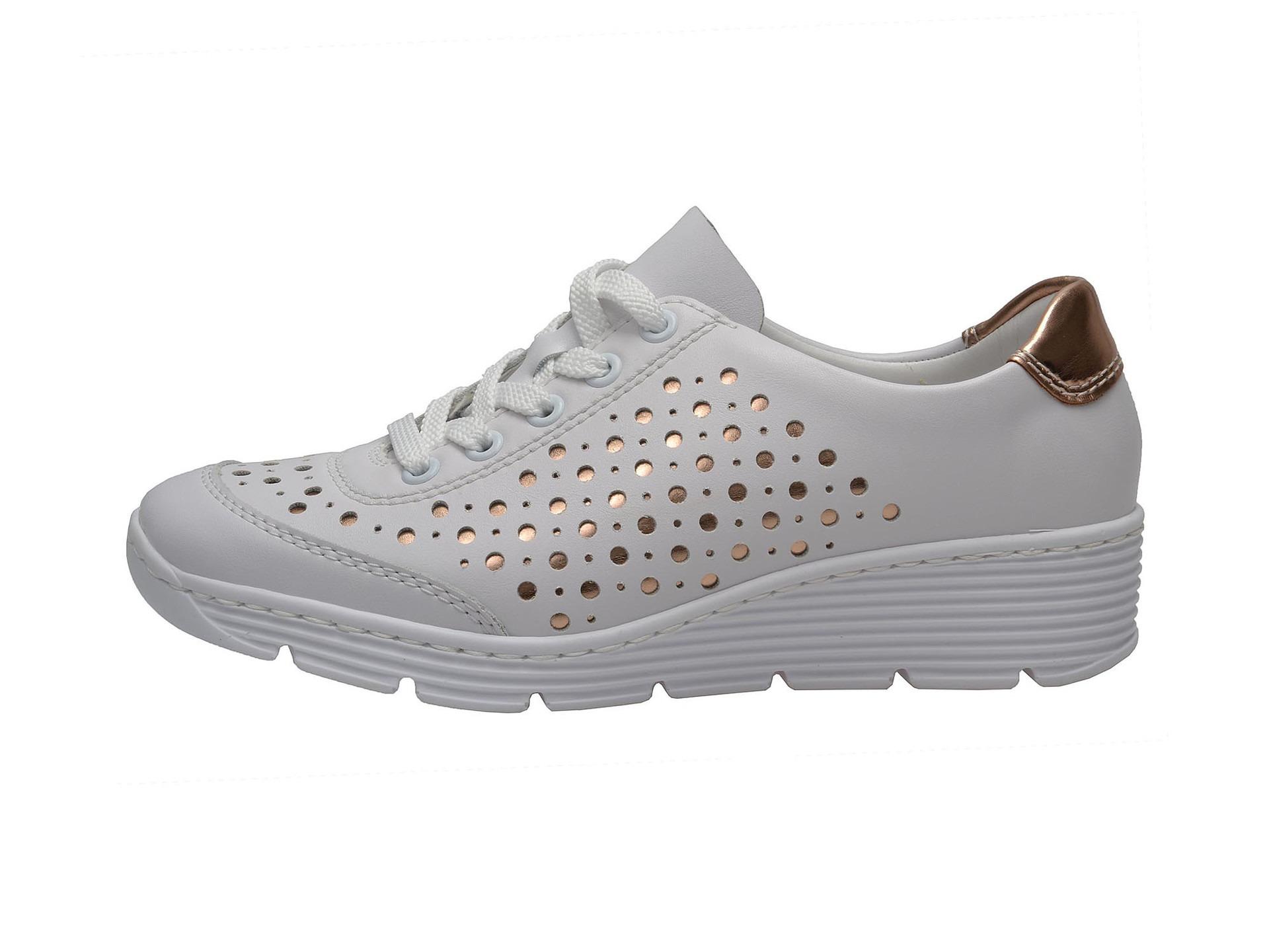 Soňa - Dámska obuv - Poltopánky - Dámska šnurovacia obuv značky Rieker 8875bf500c