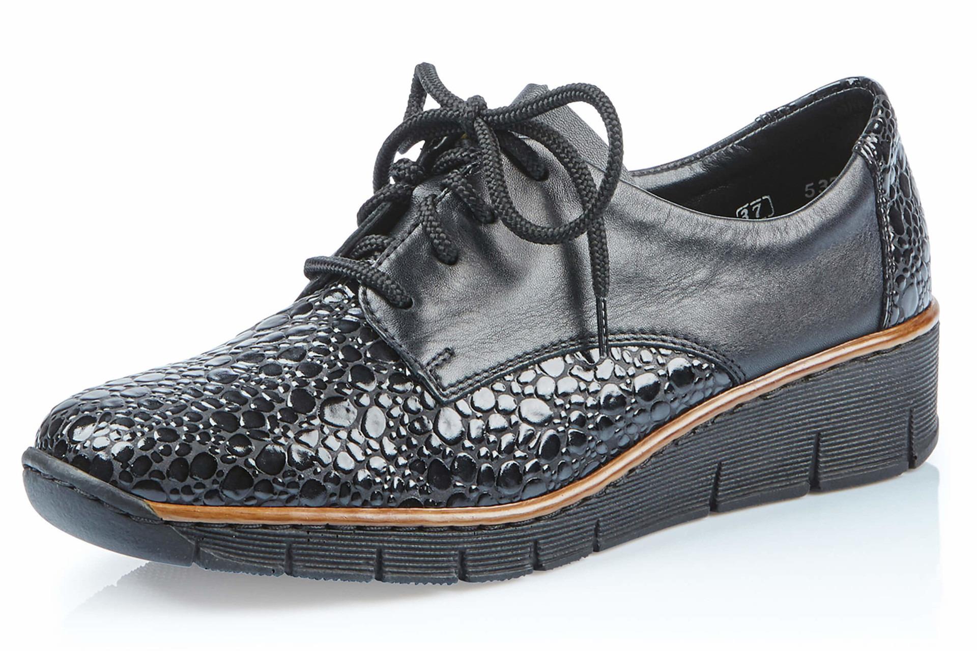 Soňa - Dámska obuv - Poltopánky - Dámska šnurovacia obuv značky Rieker 09d79cd670f