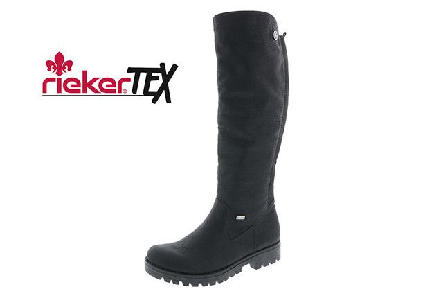 Soňa - Dámska obuv - Čižmy - Dámska vysoká zateplená čižmy značky Rieker cb7b72b89a4