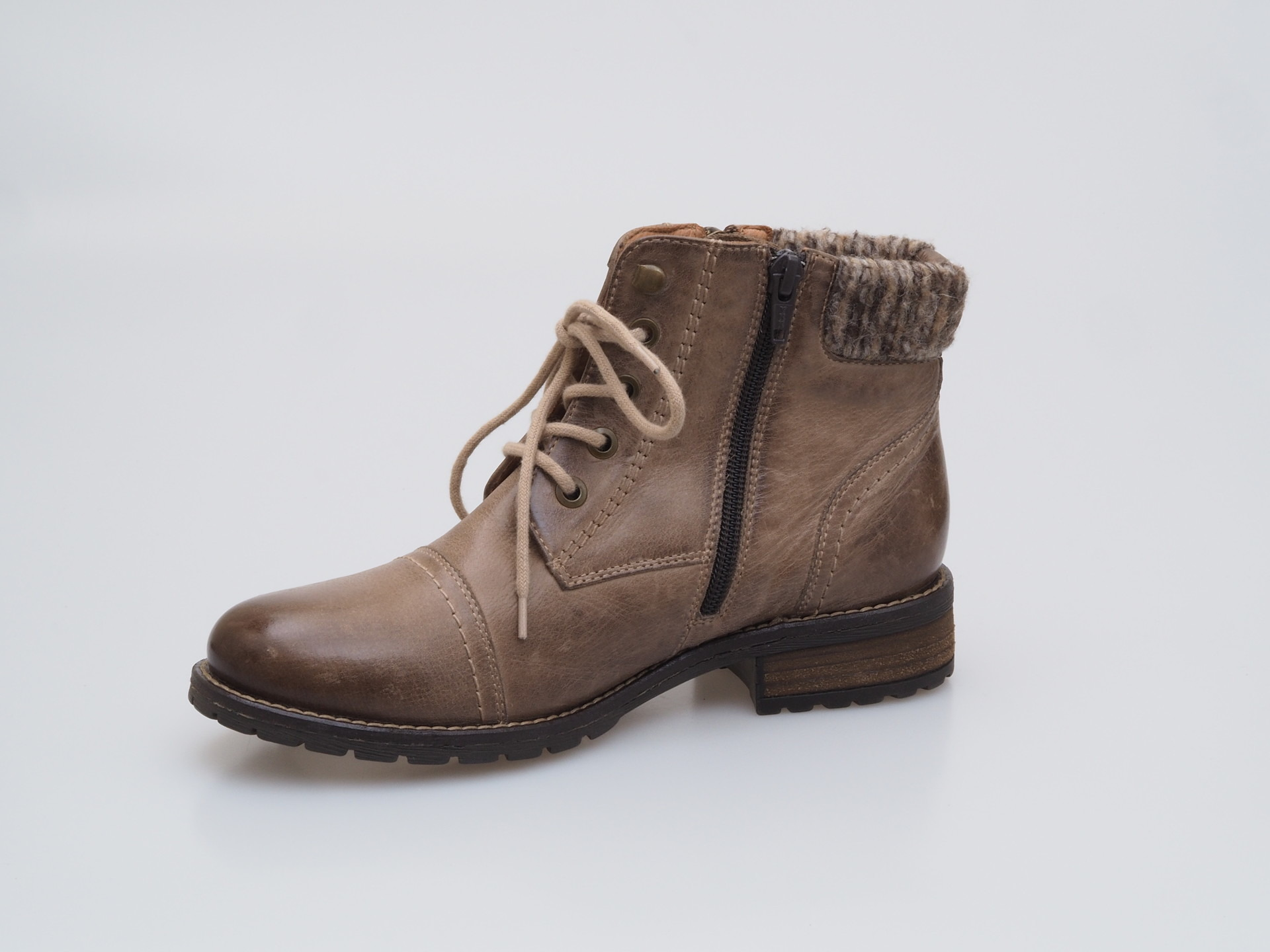 911a0772c1 Soňa - Dámska obuv - Kotníčky - Hnedá dámska šnurovacia obuv