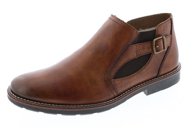 84cd8aed45 Hnedá pánska členková obuv značky Rieker