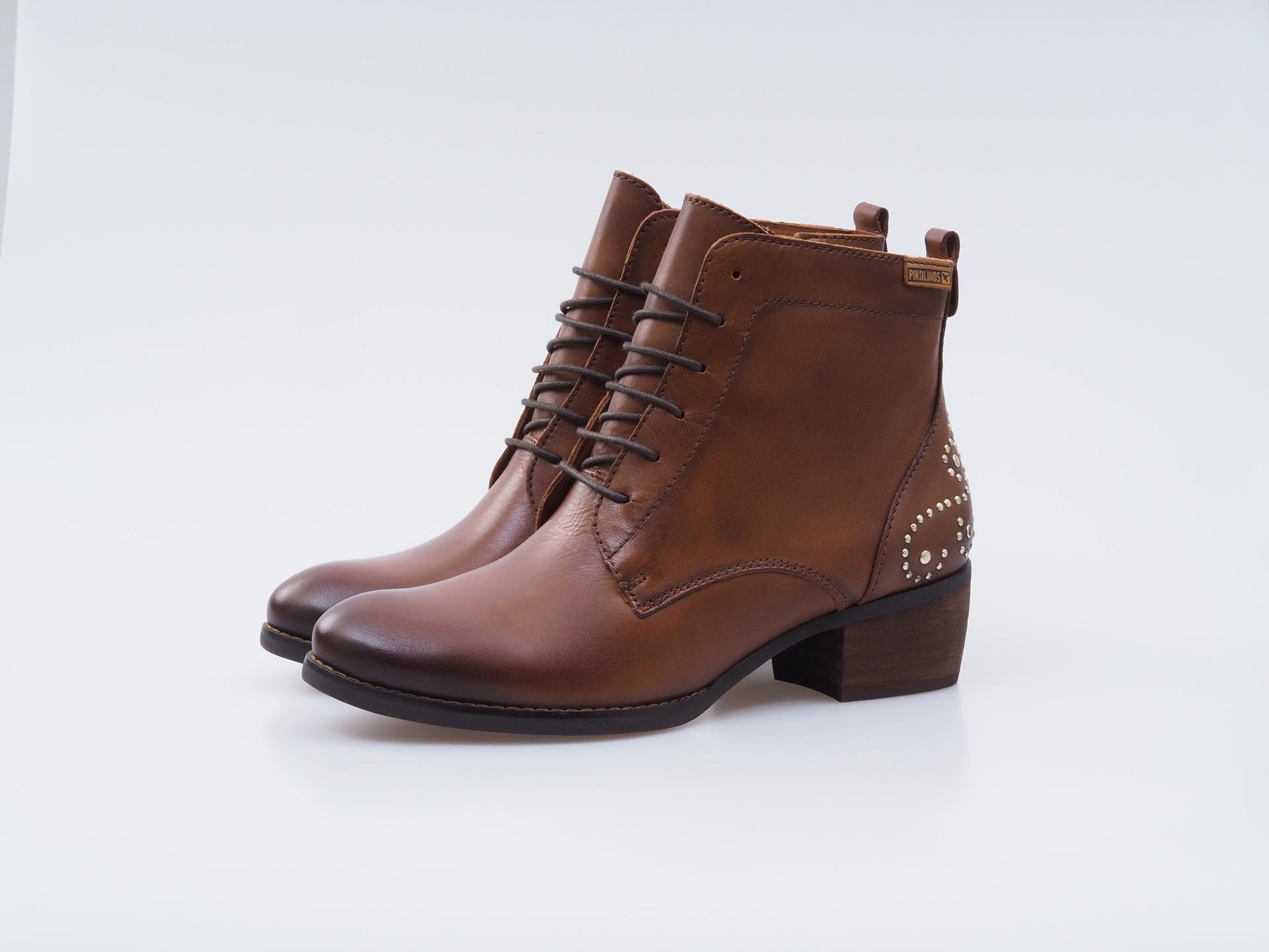 Soňa - Dámska obuv - Kotníčky - Hnedé kožené topánky na šnurovanie 13b270219f5