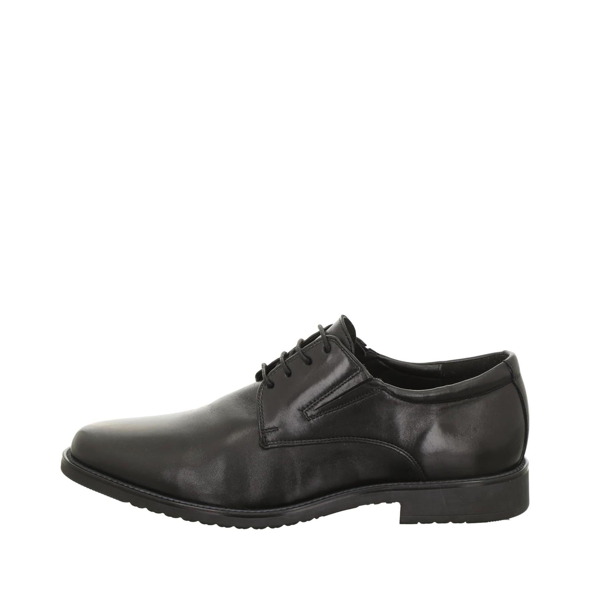 b23214c5b2 Soňa - Pánska obuv - Poltopánky - Kožená čierna šnurovacia obuv