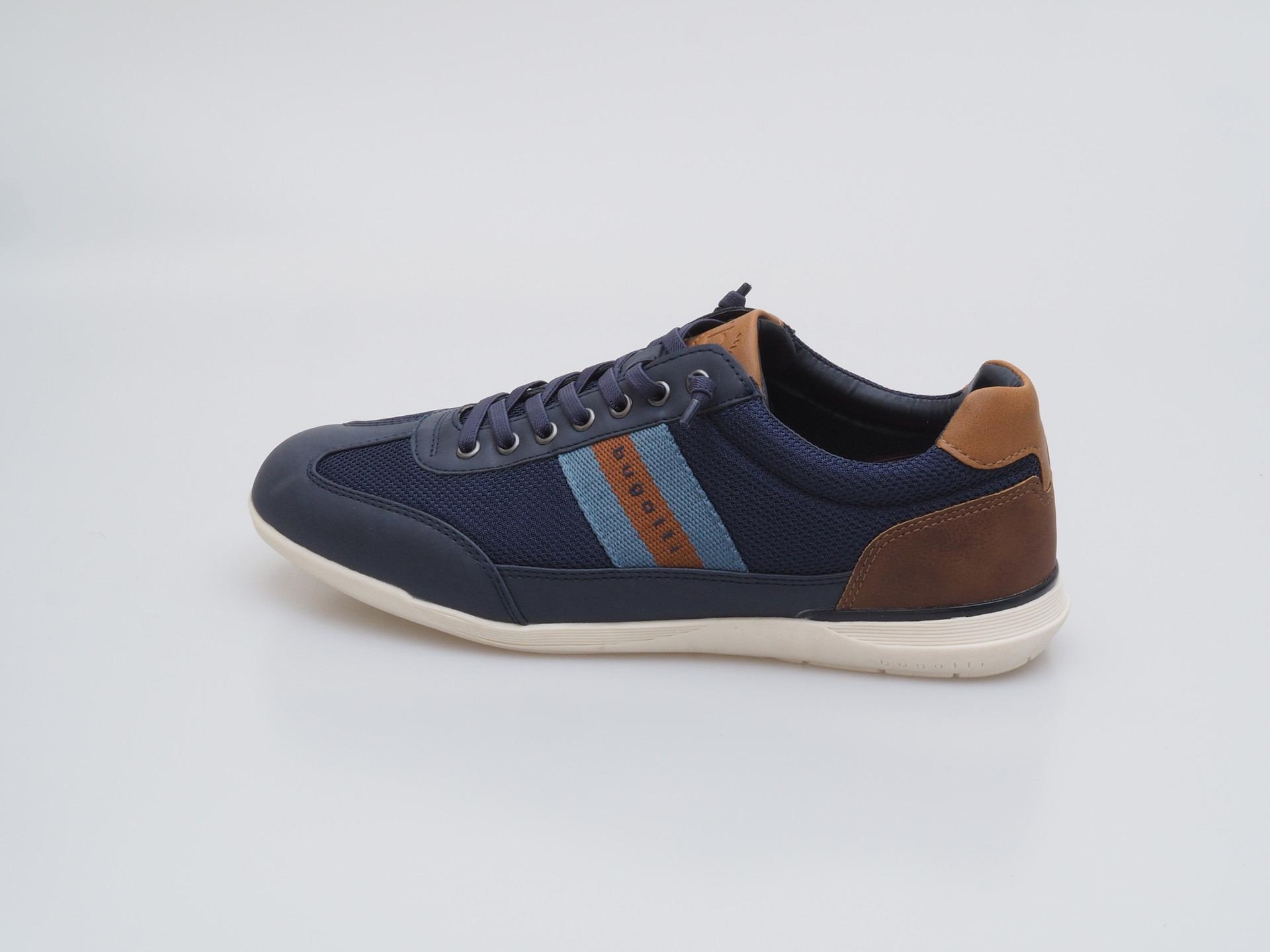 Soňa - Pánska obuv - Tenisky - Modrá pánska športová obuv značky Bugatti b17b99a0f8