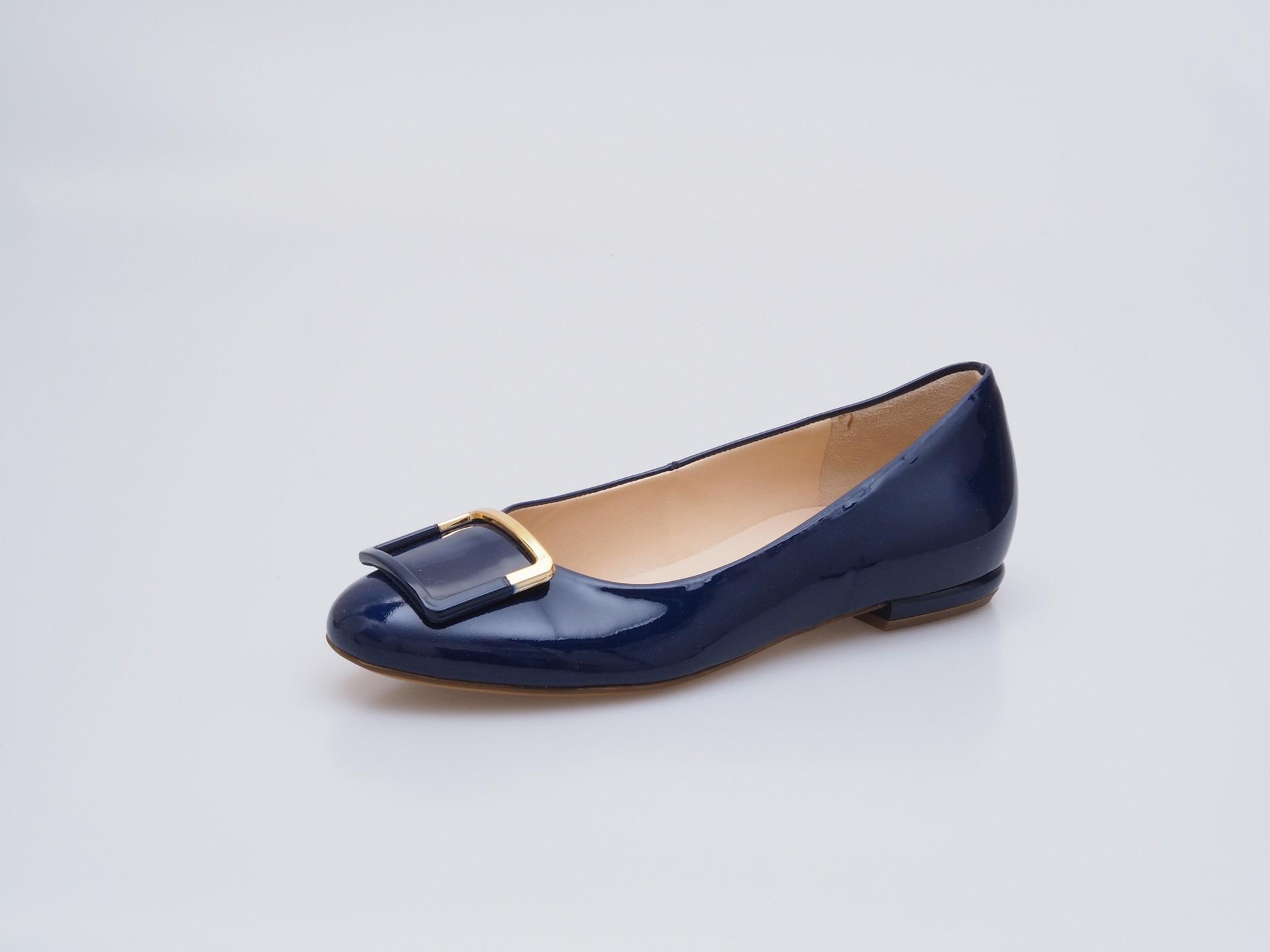 c303c821dda Soňa - Dámska obuv - Baleríny - Modré lakované baleríny Högl