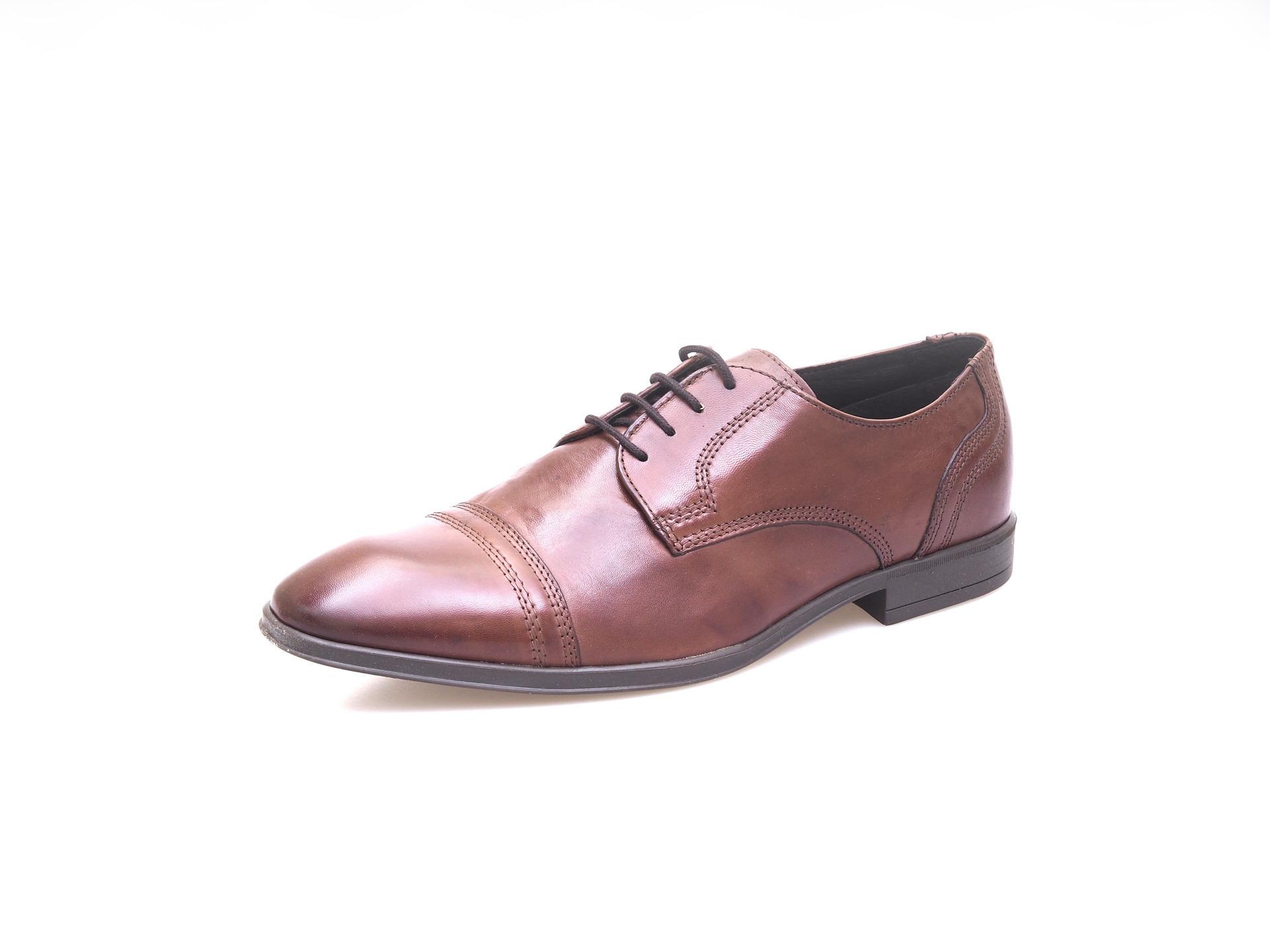 7eaa7e728013 Soňa - Pánska obuv - Poltopánky - Pánska šnurovacia obuv - hnedá