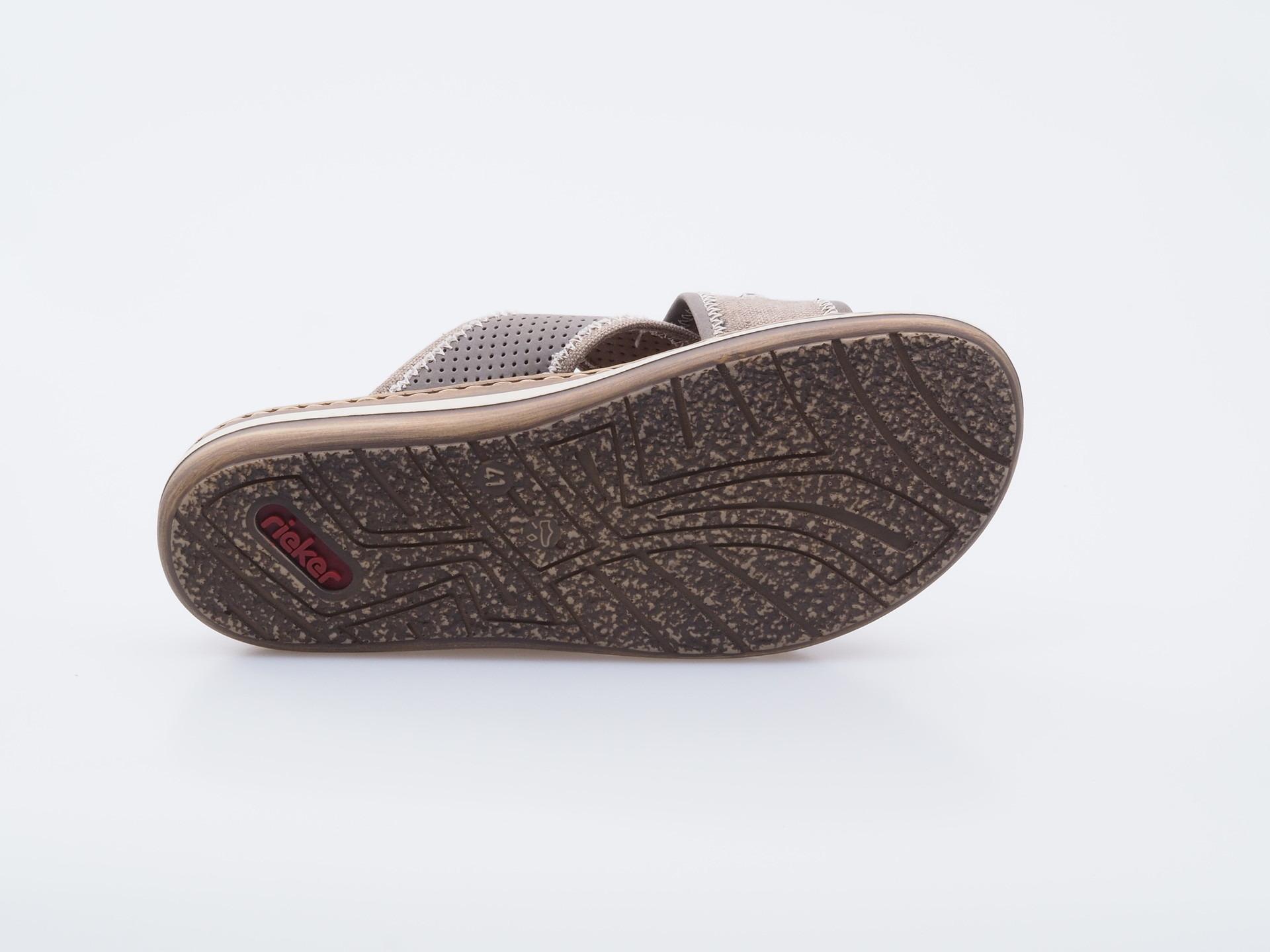1e4117c5edcb Soňa - Pánska obuv - Šľapky - Šedé pánske šľapky Rieker