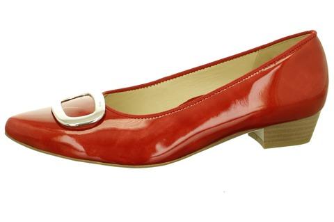 9fdee8e9a187 Soňa - Dámska obuv - Lodičky - ARA dámska lodička na nízkom podpätku -  červená