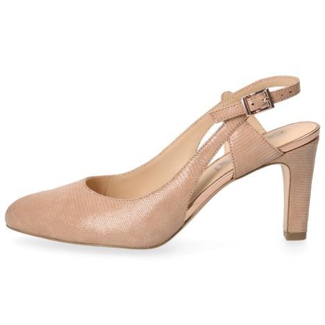 8247cea1c7 Soňa - Dámska obuv - Sandále - Béžové dámske sandále na vysokom ...