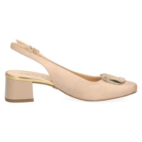 aefce9eeec19 Soňa - Dámska obuv - Sandále - Béžové dámske uzatvorené sandále na ...