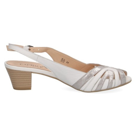 423a414aac6e Soňa - Dámska obuv - Sandále - Biele dámske otvorené sandále na ...