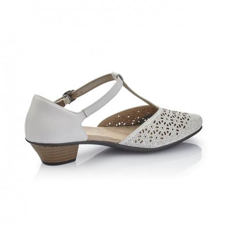577282e67 Soňa - Dámska obuv - Sandále - Biele dámske uzatvorené sandále na ...