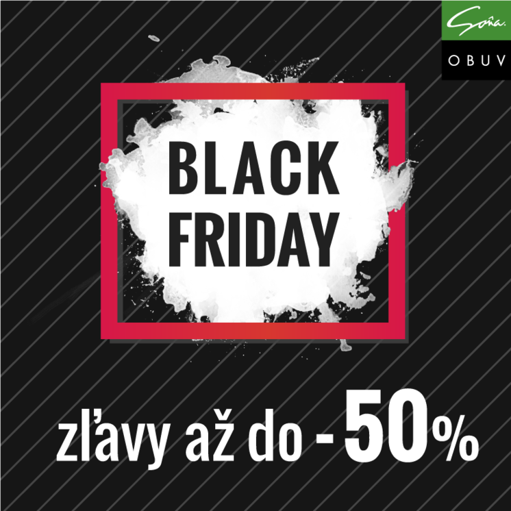 Black Friday v obuvi Soňa - zľavy až do -50% 1f5b8cd09f4