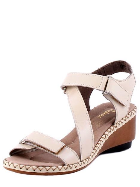 9ea557a72e6d Soňa - Dámska obuv - Sandále - Bledošedé sandále na klinovom ...