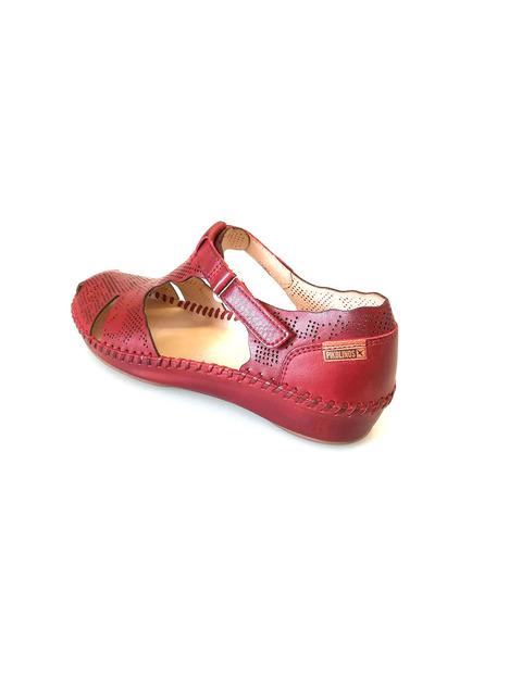 728435e9b6 Soňa - Dámska obuv - Sandále - Bordová dámska otvorená sandála na ...