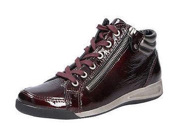 227ee3d326d7 Soňa - Dámska obuv - Tenisky - Bordová šnurovacia obuv značky Ara