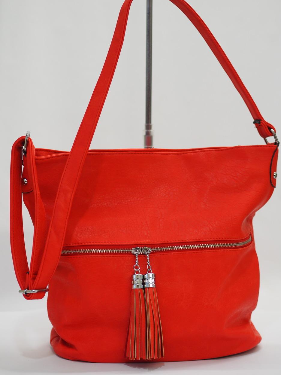 3ee77caef3 Soňa - Dámska - Dámske kabelky - Červená dámska kabelka