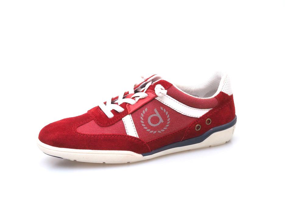 da219508eca7 Soňa - Pánska obuv - Tenisky - Červená pánska športová obuv značky Bugatti
