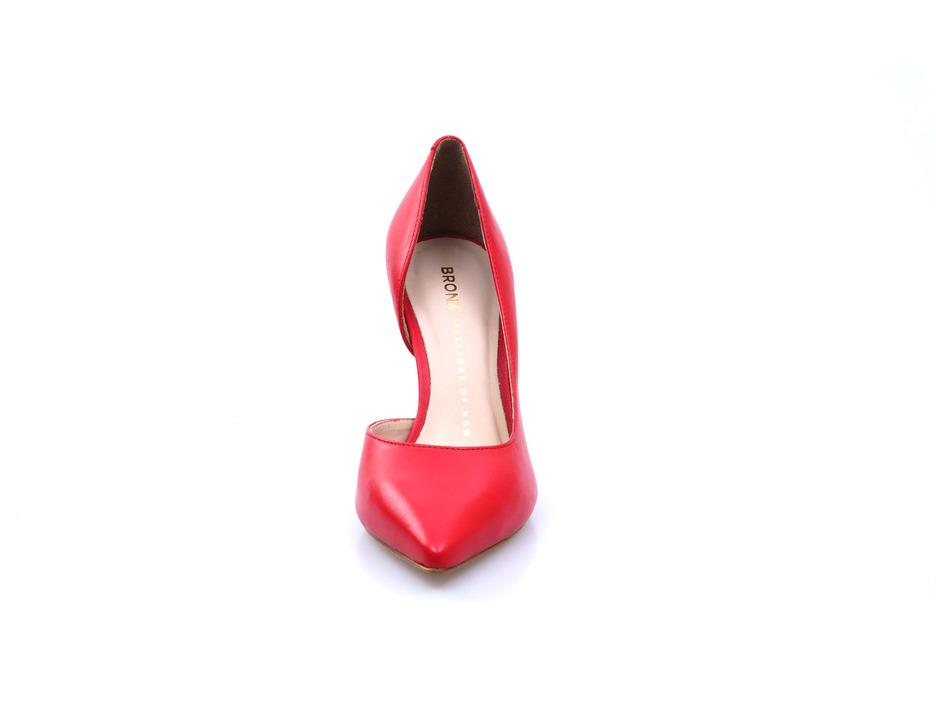 753b69248960c Soňa - Dámska obuv - Spoločenská obuv - Červené dámske lodičky na vysokom  podpätku Bronx