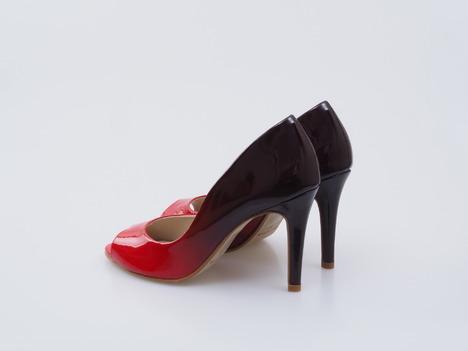 9d3ca3d1c3a79 Soňa - Dámska obuv - Lodičky - Červené dámske lodičky na vysokom podpätku  Bronx