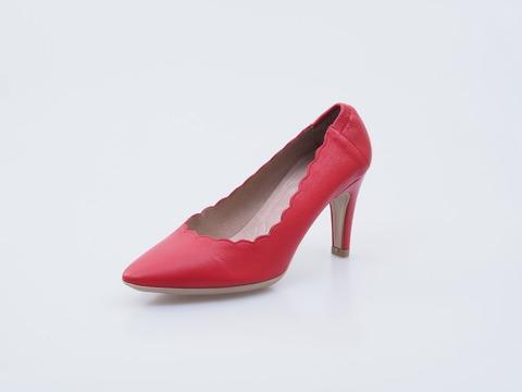 390e5ccfde96f Soňa - Dámska obuv - Lodičky - Červené dámske lodičky na vysokom podpätku  Wonders